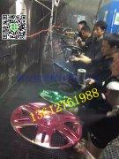 纳米喷镀电镀轮毂效果13612761988