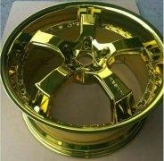 纳米电镀轮毂效果多彩电镀效果视频 13612761988
