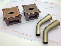 纳米电镀铝合金仿古铜电